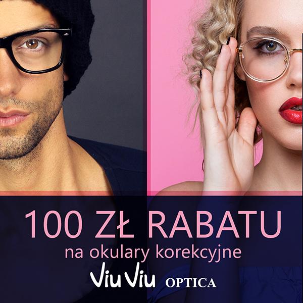100 zł rabatu na okulary