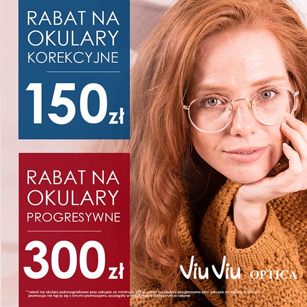 150 zł rabatu w salonach Viu Viu Optica