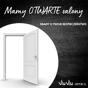 Salony Viu Viu Optica pozostają otwarte